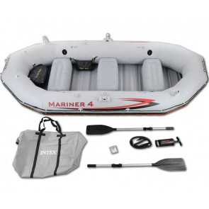 Intex Mariner 4 Set - Vierpersoons opblaasboot